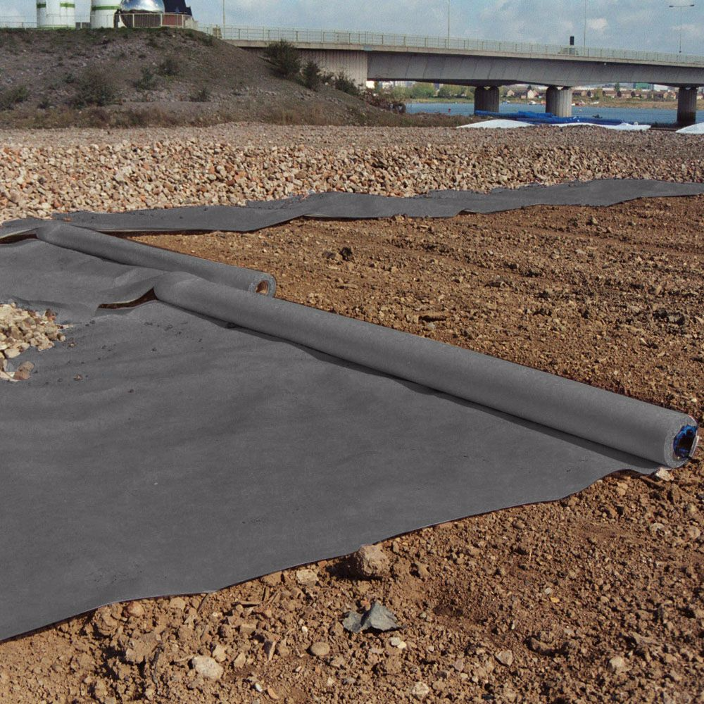 driveway geotextile fabric x 50m contractor roll. Black Bedroom Furniture Sets. Home Design Ideas